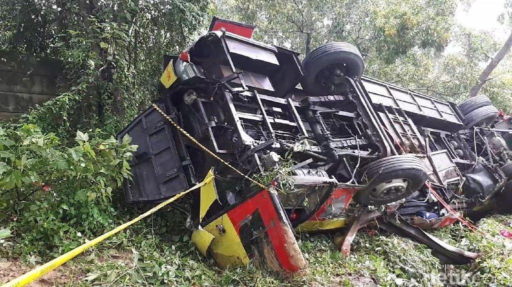 Kecelakaan Maut di Cipularang, Rem Bus Bima Suci Berfungsi Baik