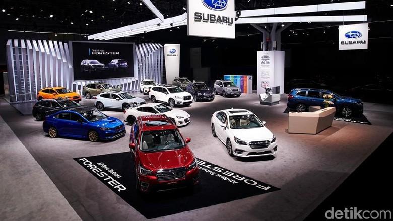 Ilustrasi mobil Subaru Foto: Subaru