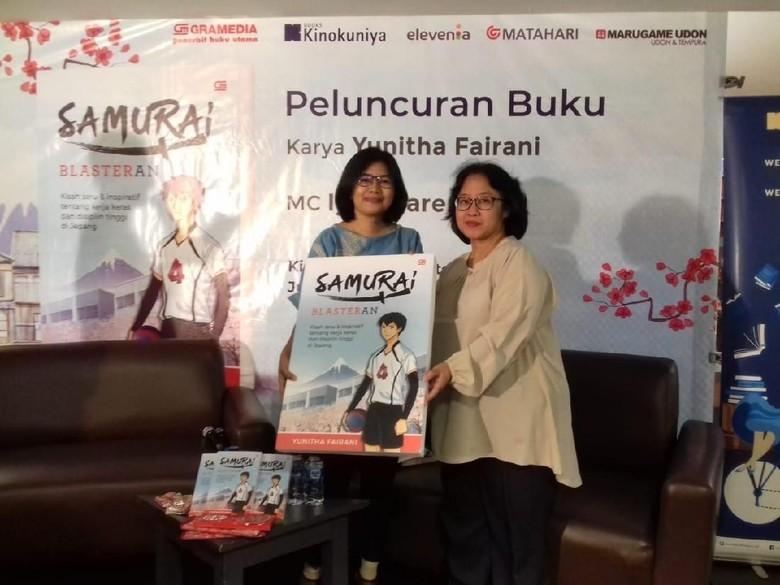 Novel Samurai Blasteran Ceritakan Nilai Positif Budaya Jepang