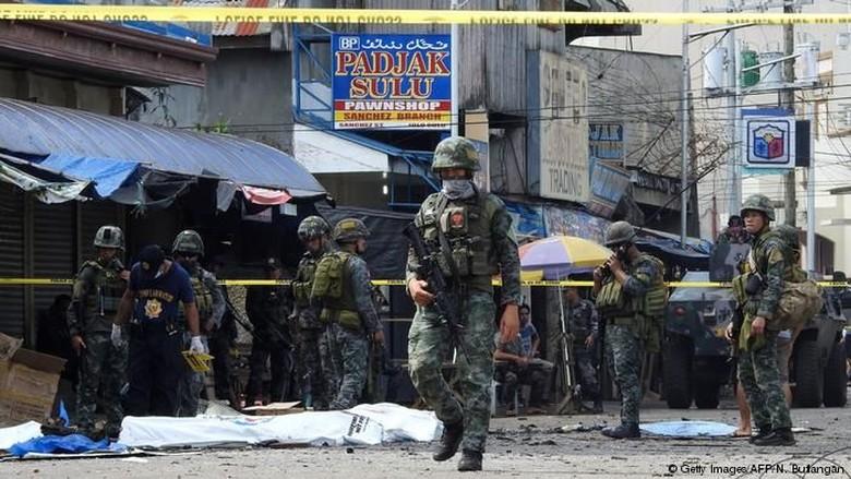 Ledakan Bom di Filipina Selatan Jadi Tekanan Untuk Akhiri Kekerasan