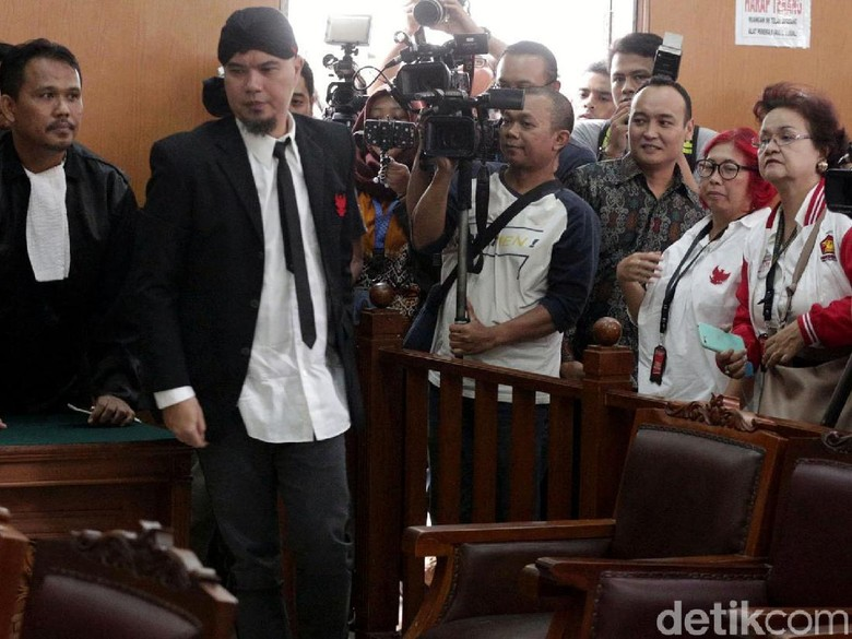 Ahmad Dhani Bakal Absen Konser, Dewa 19 Sudah Antisipasi