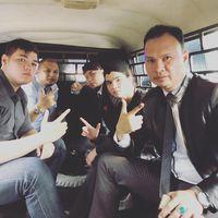 Penampakan Ahmad Dhani di Mobil Tahanan hingga di Rutan Cipinang