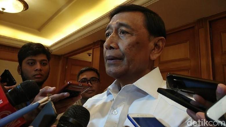 Wiranto-Kapolri Larang Pawai Kemenangan Sebelum KPU Umumkan Hasil Resmi