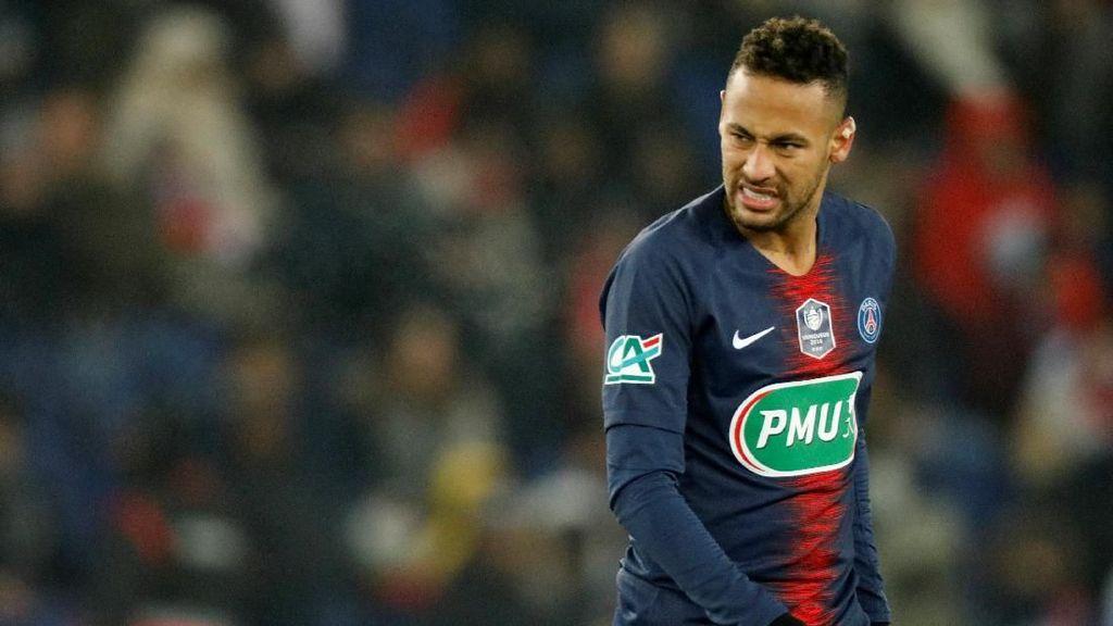 PSG Gelar Pesta Juara Akhir Pekan Ini, Neymar Dilarang Ikut