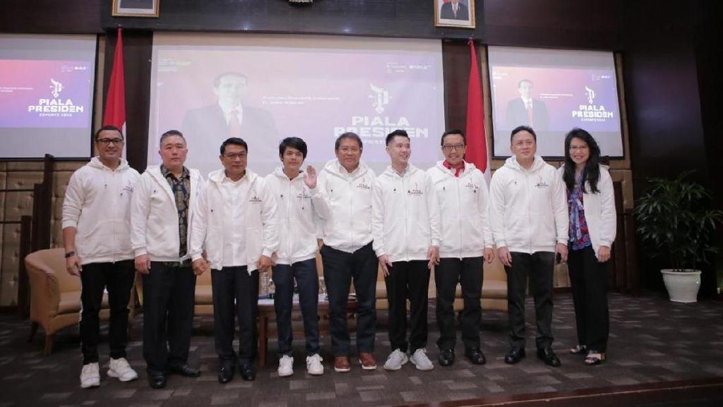 KSP Gelar Kompetisi eSport Berhadiah Piala Presiden