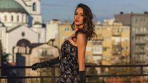 Seksinya Sara, Miss Internet dari Serbia yang Jago Taekwondo