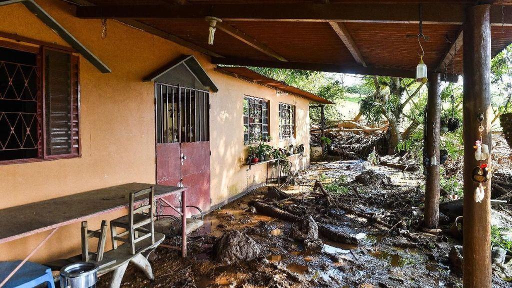 Begini Dahsyatnya Kerusakan Akibat Bendungan Jebol di Brasil