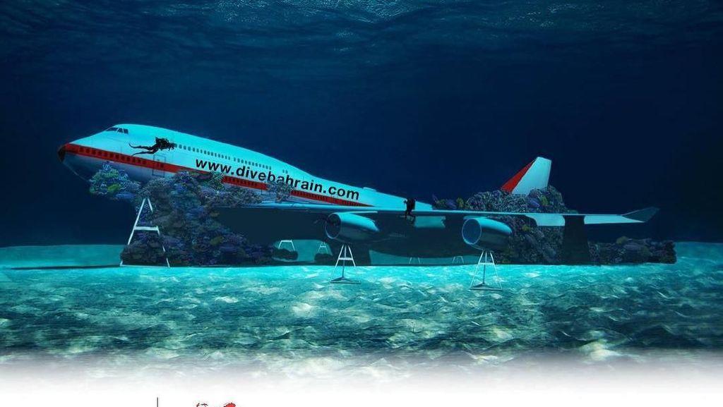 Bahrain Akan Buka Taman Rekreasi Bawah Laut Terbesar di Dunia