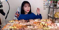 Wah, YouTuber Cantik Ini Berhasil Lahap 240 Sushi