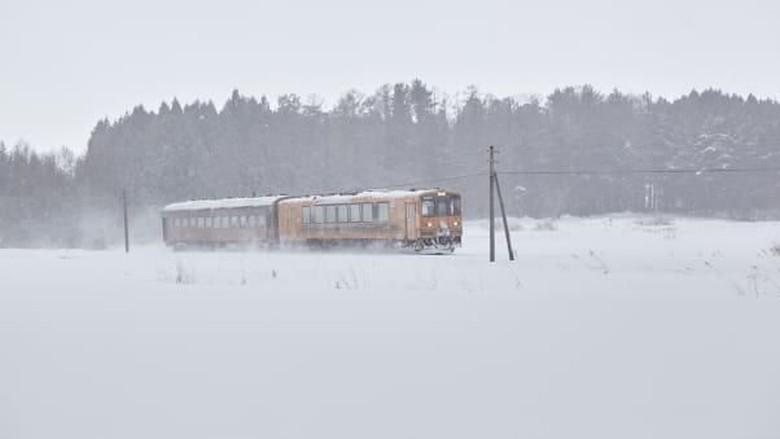 Kereta Api Tsugaru di Aomori, Jepang (JNTO/CNN Travel)