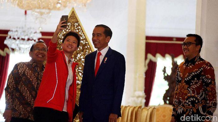 Liliyana Natsir mendapatkan tugas khusus dari Presiden Jokowi. (Rengga Sancaya/detikSport)
