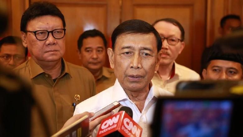 Wiranto Pastikan Aparat Tak Lengah dari Teroris: Ngelawan Kita Habisi!