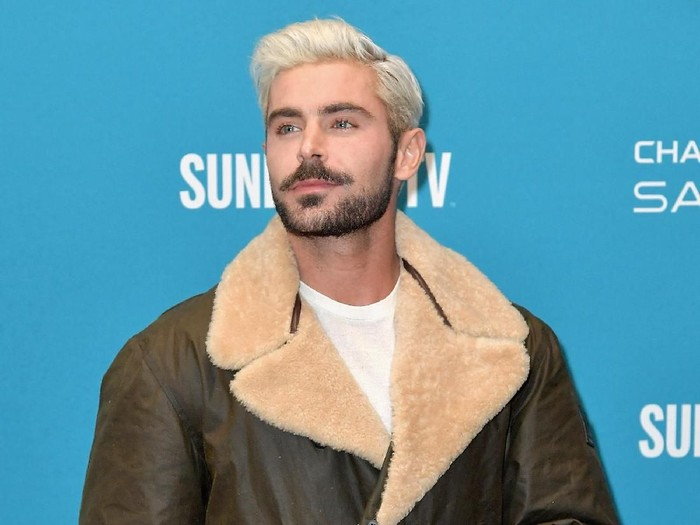 PARK CITY, UT - JANUARY 26:  Zac Efron attends the Extremely Wicked, Shockingly Evil And Vile Premiere during the 2019 Sundance Film Festival at Eccles Center Theatre on January 26, 2019 in Park City, Utah.  (Photo by Neilson Barnard/Getty Images)