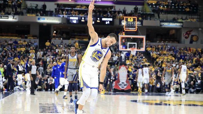 Golden State Warriors menang atas Indiana Pacers dan lanjutan tren kemenangan. (Foto: Andy Lyons/Getty Images)
