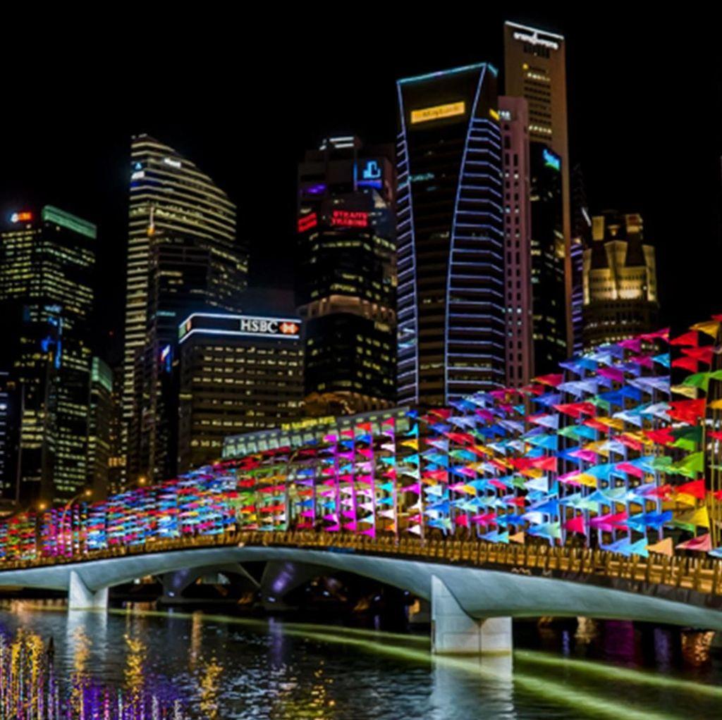 Festival Seni Tahunan i Light Singapore 2020 Terpaksa Dibatalkan