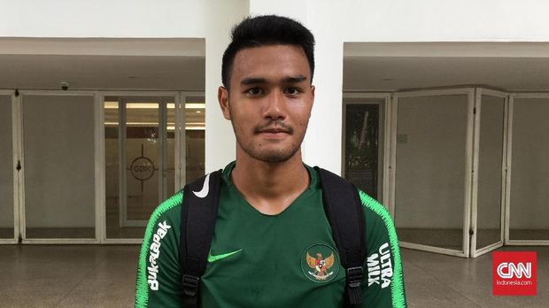 M Rafli Mursalim absen di latihan perdana Timnas Indonesia.