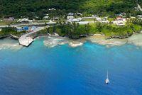 Lanskap Niue dari udara