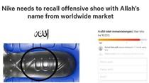 Puluhan Ribu Orang Desak Nike Tarik Sepatu Berlafadz Allah