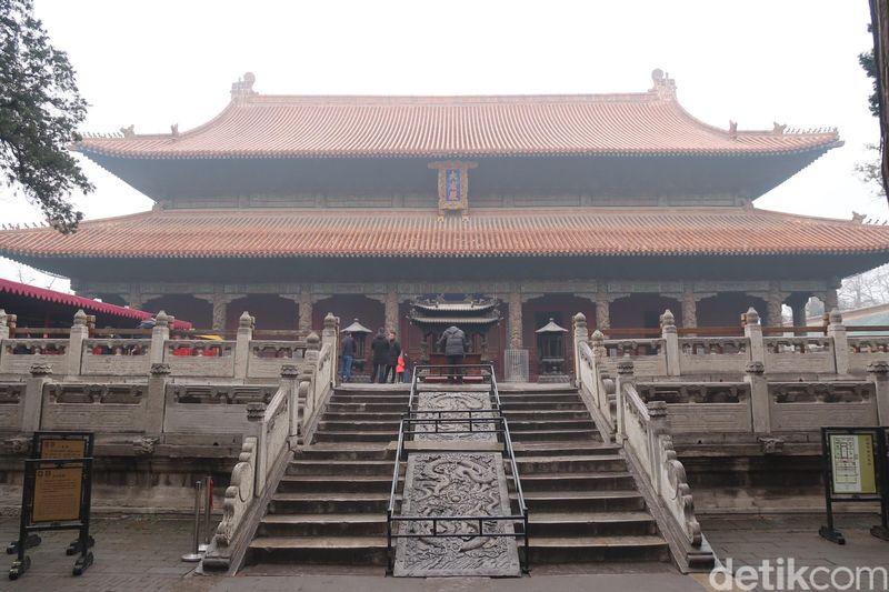 Temple of Confucius berada di Kota Qufu, Provinsi Shandong, China. Kota ini menjadi tempat kelahiran Konfusius. (Bonauli/detikTravel)
