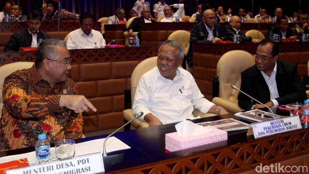 Tiga Menteri Jokowi Rapat Bareng DPR Bahas Temuan BPK