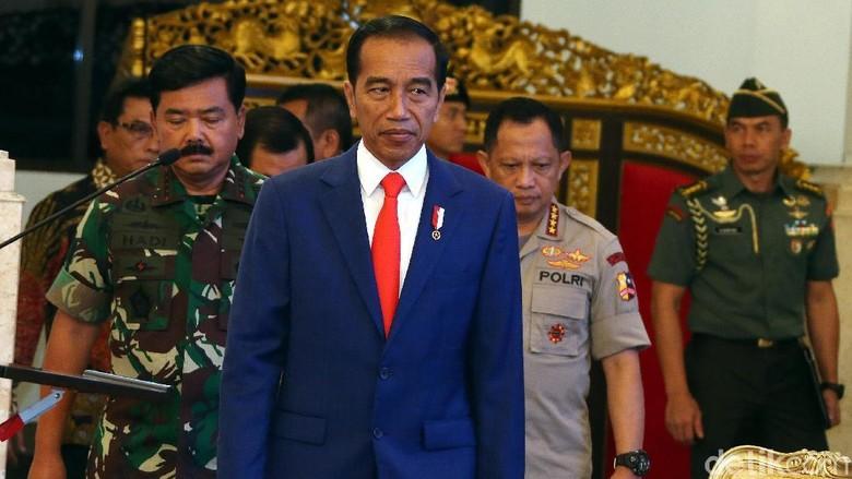Di Depan Pati, Jokowi Tegaskan TNI-Polri Harus Netral di Pemilu 2019