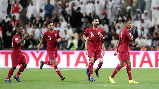 Timnas Qatar untuk kali pertama lolos ke final Piala Asia.