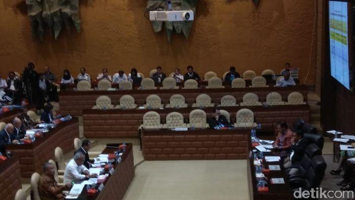 Foto: Rapat Komisi V. Trio Hamdani detikFinance