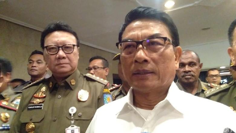 TPM Sebut Baasyir Tak Layak Ditahan, Moeldoko: Aspek Hukum Harus Dipenuhi