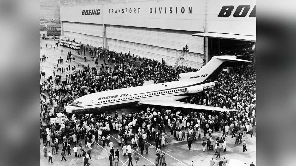 Selamat Jalan Boeing 727 Trijet...