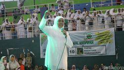 Khofifah Ajak Kader Muslimat NU di Sidoarjo Pilih Caleg Milenial