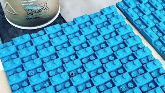 Ditinggal Peliharaannya, Pria Ini Temukan Bakatnya dari Lego
