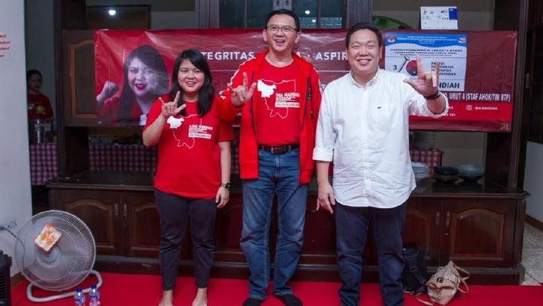 Politikus PDIP Yakin Ahok Bisa Tambah Elektabilitas Jokowi