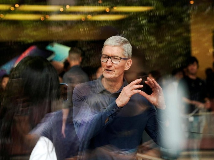 CEO Apple, Tim Cook. Foto: Reuters