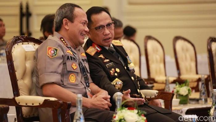 Kapolri Jenderal Tito Karnavian dan Kalemdiklat Polri Komjen Arief Sulistyanto. (Foto: dok. Istimewa)