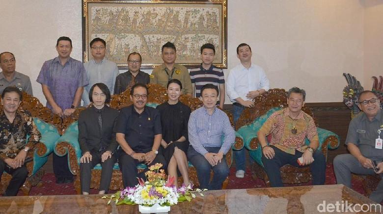 Alibaba Group tertarik menjajaki kerja sama bisnis di Bali (Aditya Mardiastuti/detikTravel)