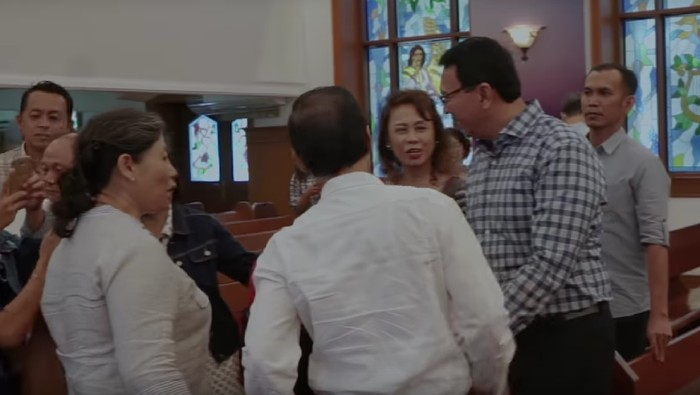 Ahok di Gereja (YouTube Panggil Saya BTP)