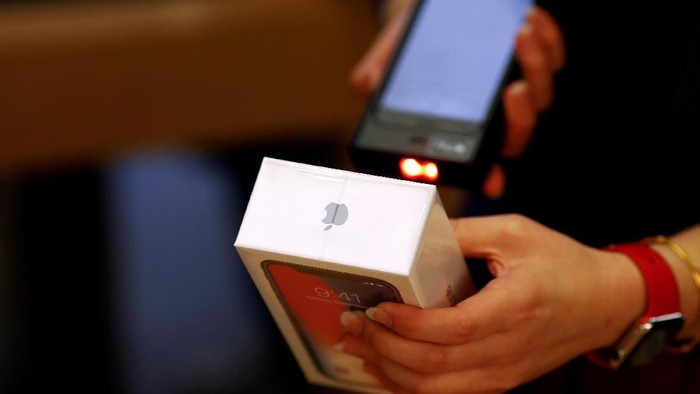 Penjualan iPhone. Foto: Reuters
