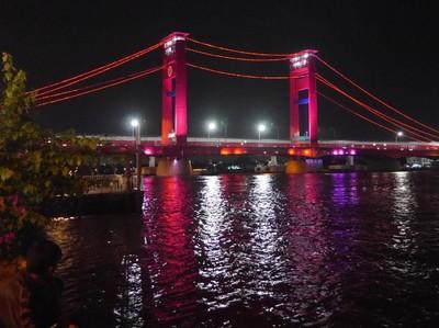 Wisata Akhir Pekan di Palembang Ala Jokowi