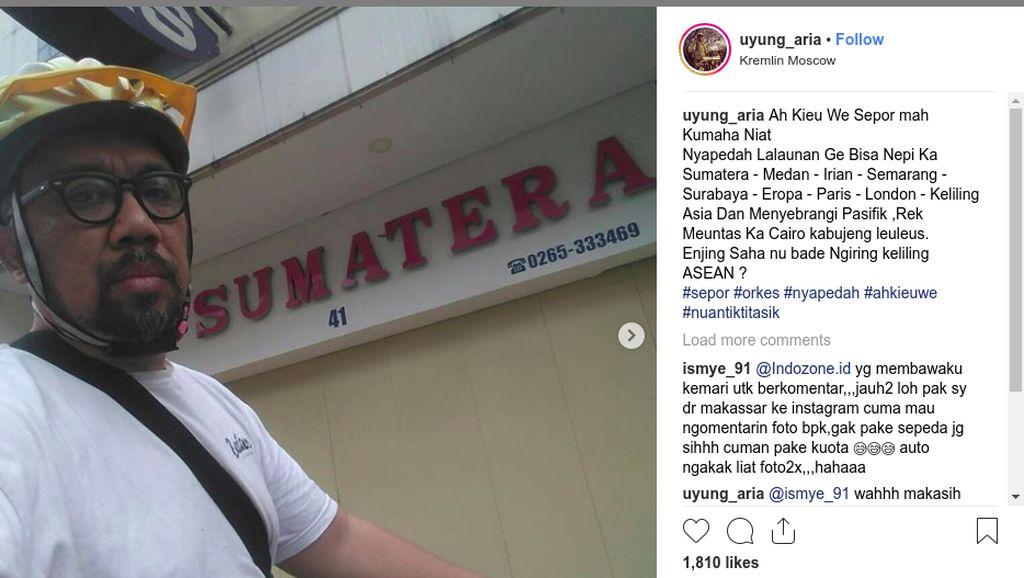 Viral Semarang ke Eropa Naik Sepeda, Begini Kisah Kocak di Baliknya