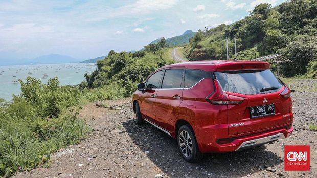 Mitsubishi Xpander meramaikan pasar roda empat segmen low MPV.