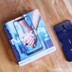 Nokia 5.1 Plus: Ponsel Rp 2 Jutaan Berpenampilan Oke, Tapi...