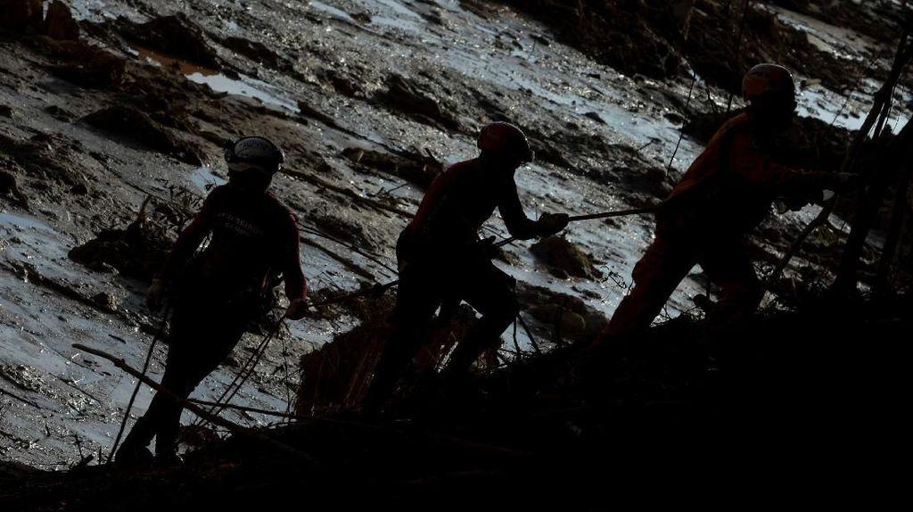 Bendungan Jebol di Brasil Tewaskan 84 Orang, 5 Insinyur Ditangkap