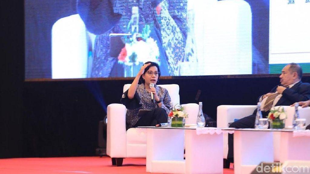 Di Depan Petinggi Polri, Sri Mulyani: Denyut Ekonomi Cukup Tinggi