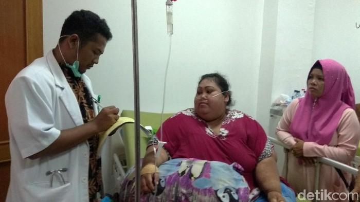 Sunarti, wanita asal Karawang yang mengalami obesitas karena kesepian (Foto: Luthfiana Awaluddin)
