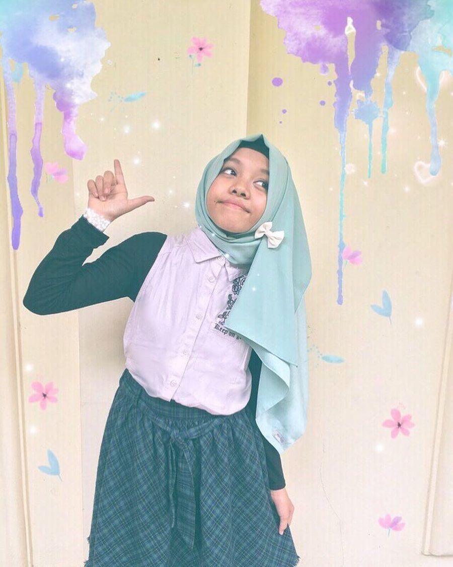 Gambar Tutorial Hijab Pashmina Fatimah Halilintar Modernhijab77