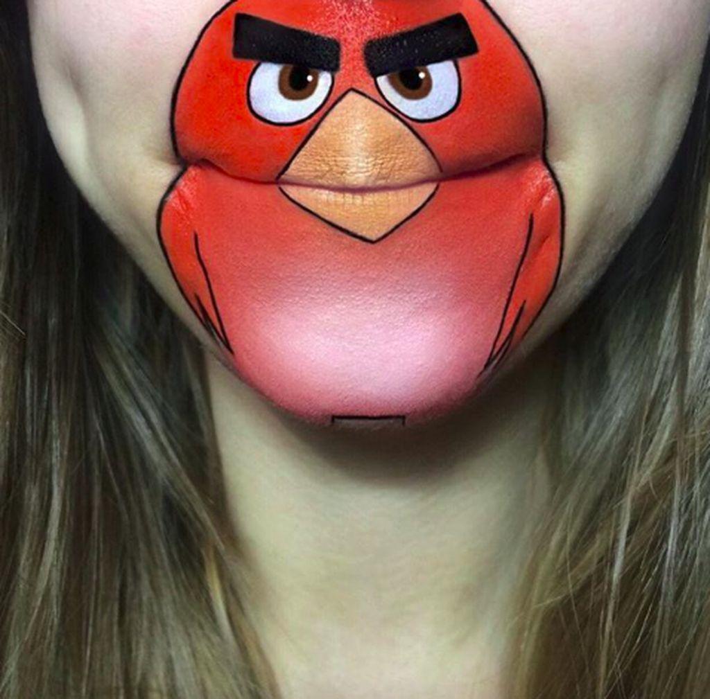 Dia adalah Laura Jenkinson yang dikenal sebagai pelukis bibir. (Foto: Instagram/Laura Jenkinson)