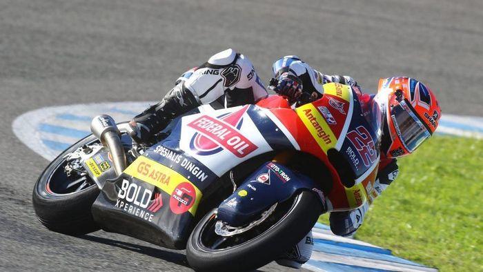 Federal Gresini Moto2 Team banyak disponsori perusahaan asal Indonesia (dok.Gresini Team)