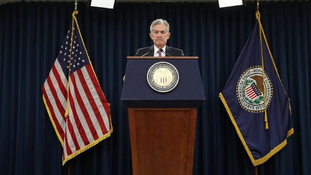 Satu Kata dari Bos The Fed Ini Bikin Wall Street Rontok