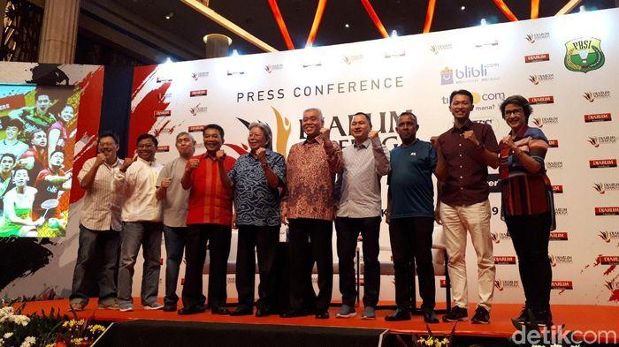 Superliga Badminton kembali digelar di Bandung. (Mercy Raya/detikSport)
