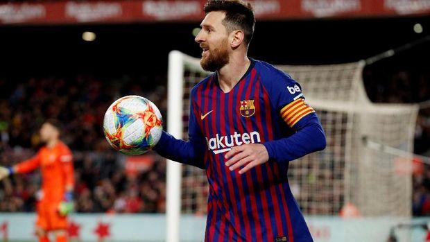 Paulo Dybala main bareng Lionel Messi di timnas Argentina.